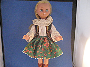 1970 Plastic Character Doll