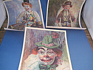 1960 Small Clown Posters