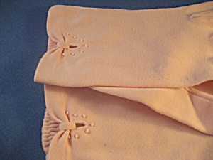 Pink Cotton Short Gloves (Image1)