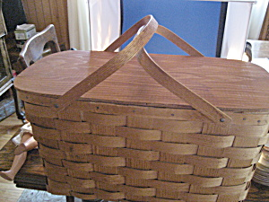 Wicker Picnic Basket and Contents (Image1)