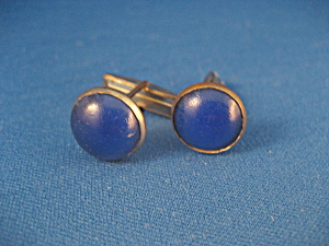 Lapis Lazuli Stone Cuff Links (Image1)