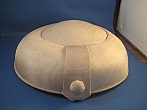 Cream Linen Hat (Image1)