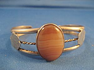 Silver Bracelet with Jasper Stone (Image1)
