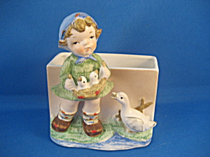 Girls and Her Geese Planter (Image1)