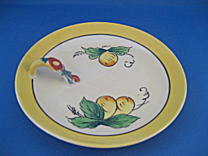 Hand Painted Lemon Dish
