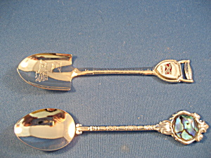 Two Collectable Souvenir Spoons (Image1)
