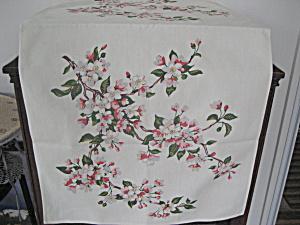 Flower Printed Dresser Scarf (Image1)