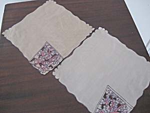 Two Silk Handkerchiefs (Image1)