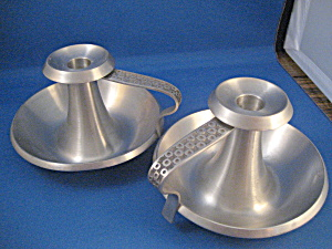 Mastad Pewter Candle Holders from Holland (Image1)