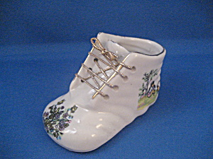 Small Porcelain Shoe