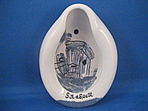 Miniature Porcelain Bed Pan For The Bathroom