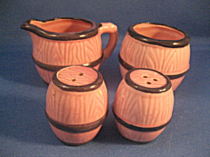 Barrell Salt and Pepper and Cream and Sugar Set (Image1)