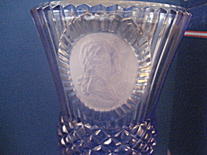 George Washington Goblet From Fostoria