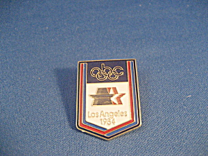 1984 LA Oympic Pin (Image1)