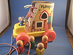 Playskool Mother Who Lives In A Shoe Shapes Game