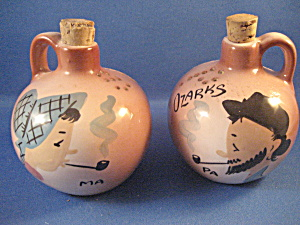 Ozark Ma And Pa Hillbilly Salt and Pepper Shakers (Image1)