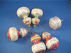 Double Drop Glass Ornaments