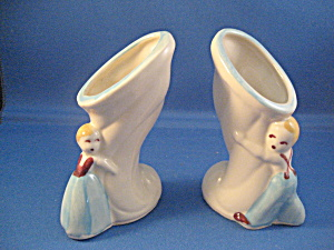Shawnee Boy and Girl Vases (Image1)