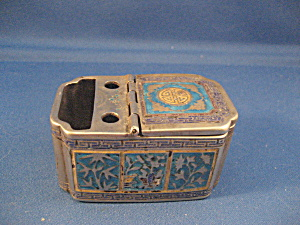 Very Old Oriental Match Holder and Ash Tray (Image1)