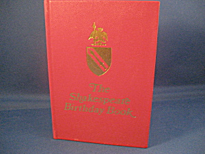 The Shakespeare Birthday Book (Image1)