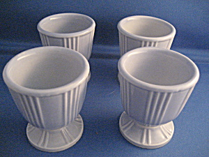 Hankscraft Porcelain Art Deco Egg Cups (Image1)
