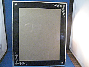 Very Old Glass Frame