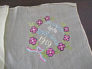 Souvenir de la G de Guerre 1919 Handkerchief (Image1)