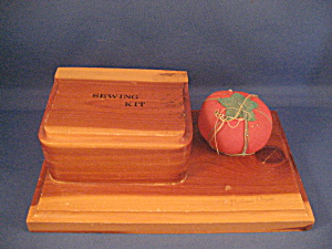 Portland Oregon Wooden Sewing Kit (Image1)