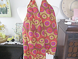 Circle Silk Scarf (Image1)