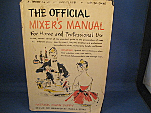 The Official Mixer's Manual for Home and Professionsl Use (Image1)