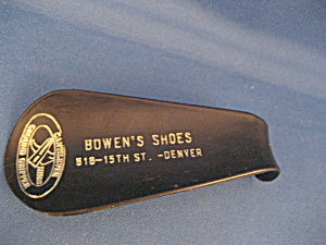 Bakelite Advertising Shoe Horn