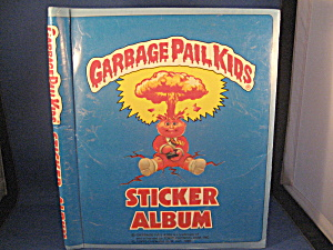 Garbage Pail Kids Sticker Album (Image1)
