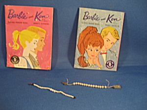 Barbie Pearl Necklace And Catalog