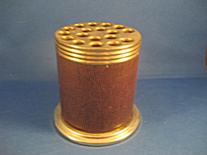 Brass Top Pen And Pencil Holder