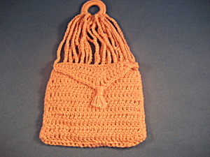 Vintage Civil War Style Knitted Coin Purse (Image1)