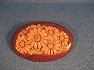 Wooden Brooch (Image1)