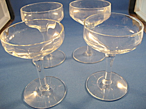 Four Miniature Champagne Glasses (Image1)