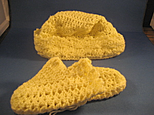 Baby's Bonnett and Booties (Image1)