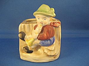Bugle Boy Planter Made in Occupied Japan (Image1)