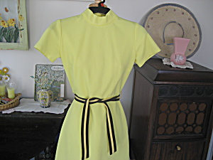 1970 Polyester Shift Dress (Image1)