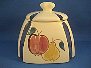 Purinton Biscuit Jar