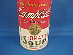Campbells Soup 125th Anniversary Bank