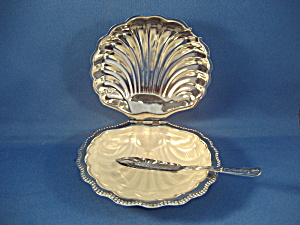 Aluminum Shell Butter Dish  (Image1)