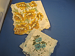 Two Vintage Handkerchiefs (Image1)
