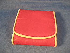 Red Leather Coin Purse (Image1)
