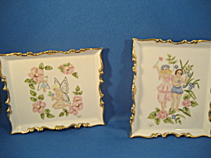 Two Hand Painted Porcelain Pictures