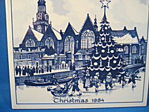 Delft Christmas Tile