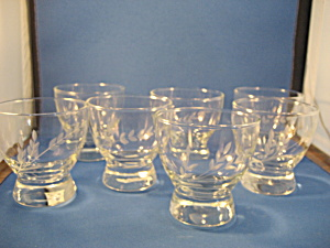 Princess House Juice Glasses