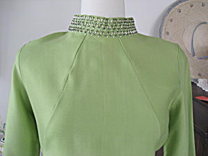Green Beaded Dress (Image1)