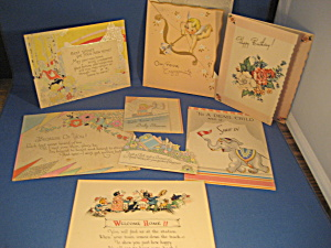 Group of Vintage Greeting Cards and Post Cards (Image1)